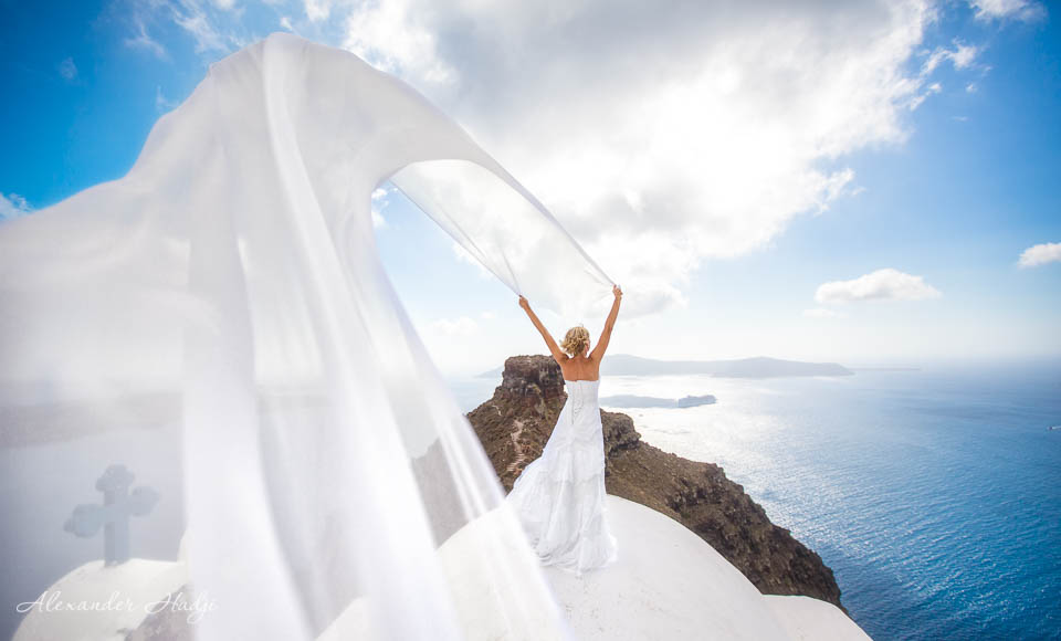 Santorini wedding photogrpher price