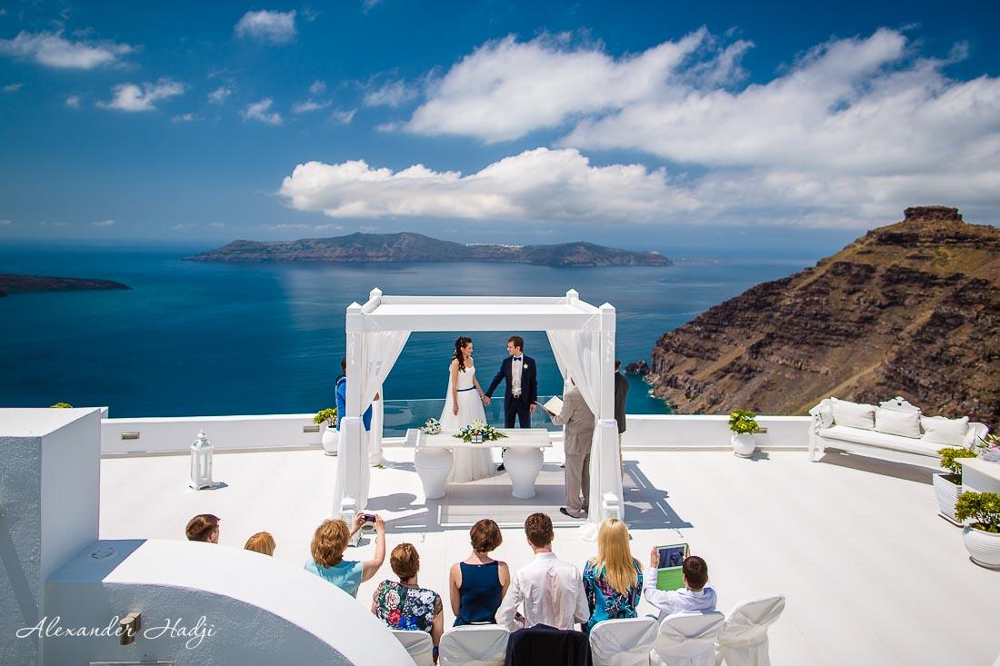 santorini wedding photography by alexander hadji get