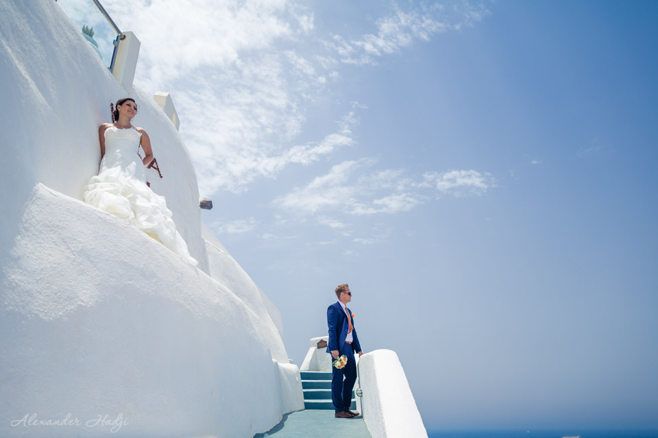 Santorini wedding photographer Villa Irini Wedding Venue