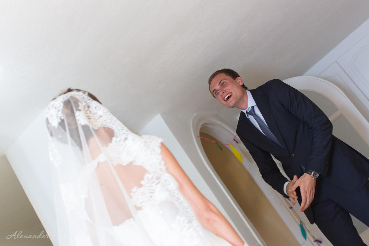 Свадебная фотосессия на Санторини