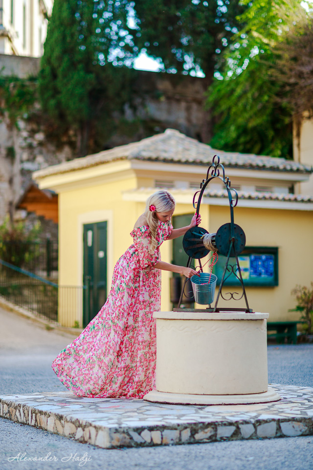 Love story фотосессия в Греции