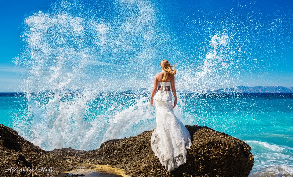 Rhodes wedding photographer Свадебный фотограф на Родос