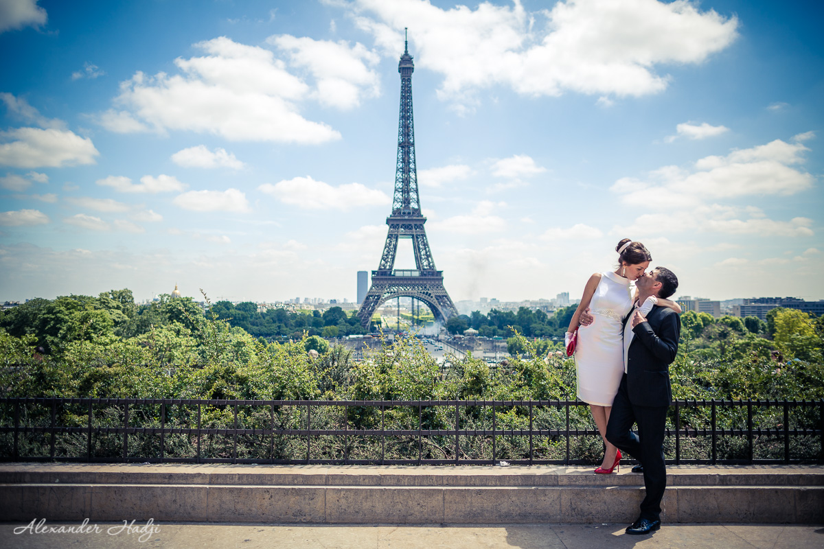 Paris honeymoon photographer