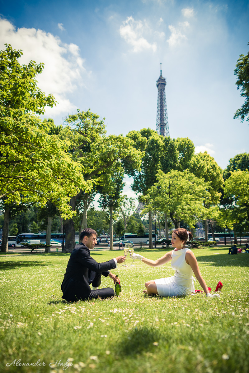 Paris honeymoon photography