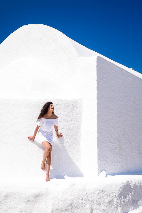 مصور في سانتوريني Santorini photo shoot