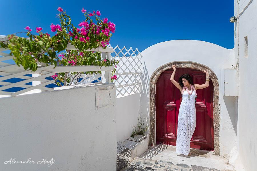 مصور في سانتوريني Santorini photographer