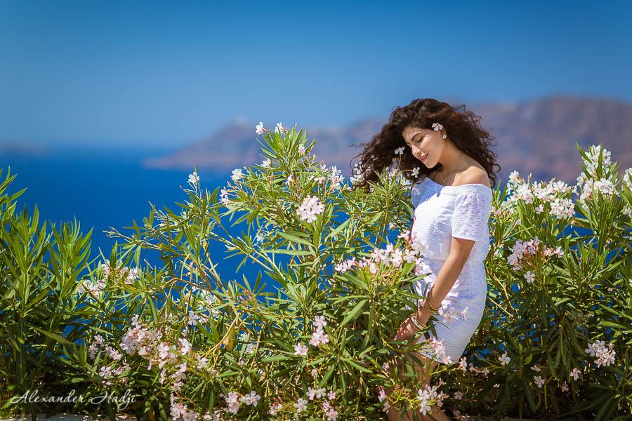 مصور في سانتوريني Santorini photo session