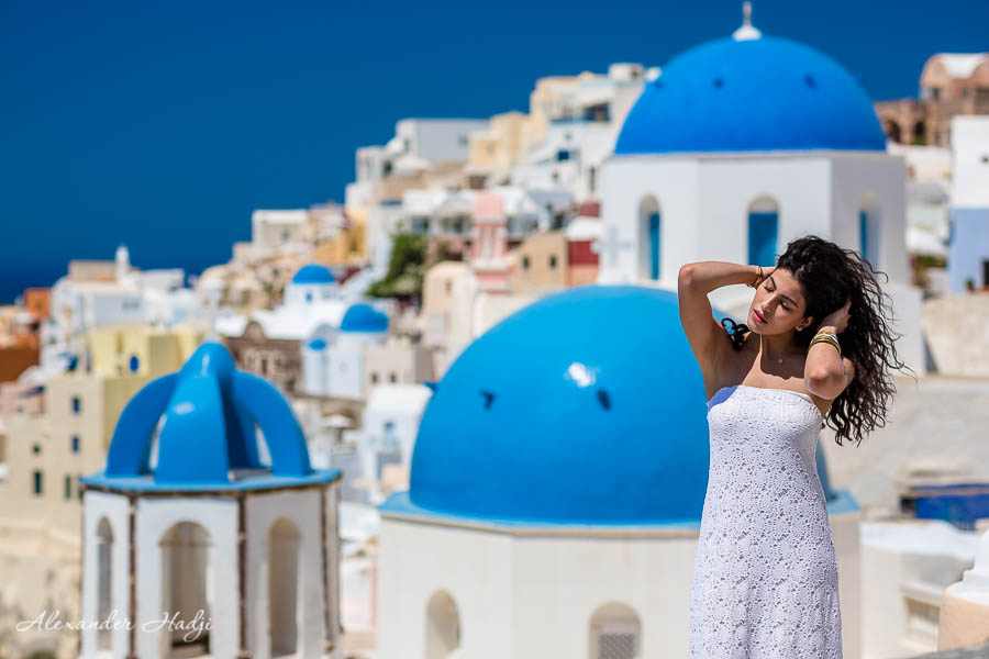 مصور في سانتوريني photographer in Santorini