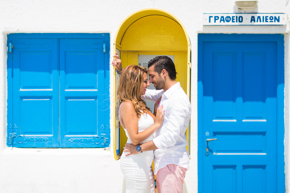 Mykonos engagement photography 米科诺斯的婚纱照