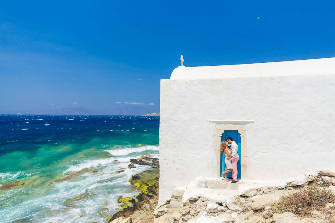 Mykonos honeymoon photographer