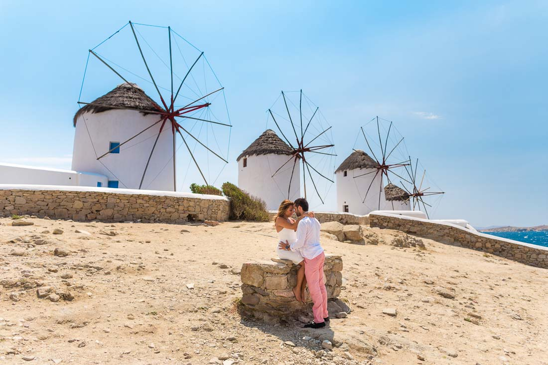 Honeymoon photographer Mykonos