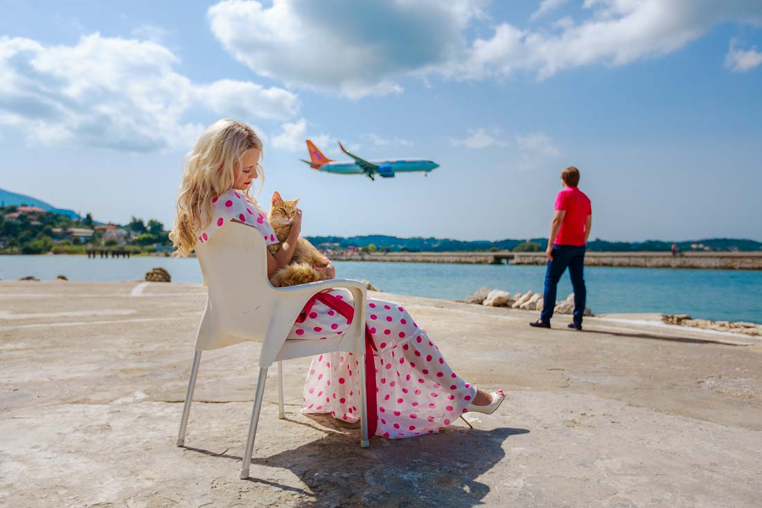 Honeymoon photographer Corfu