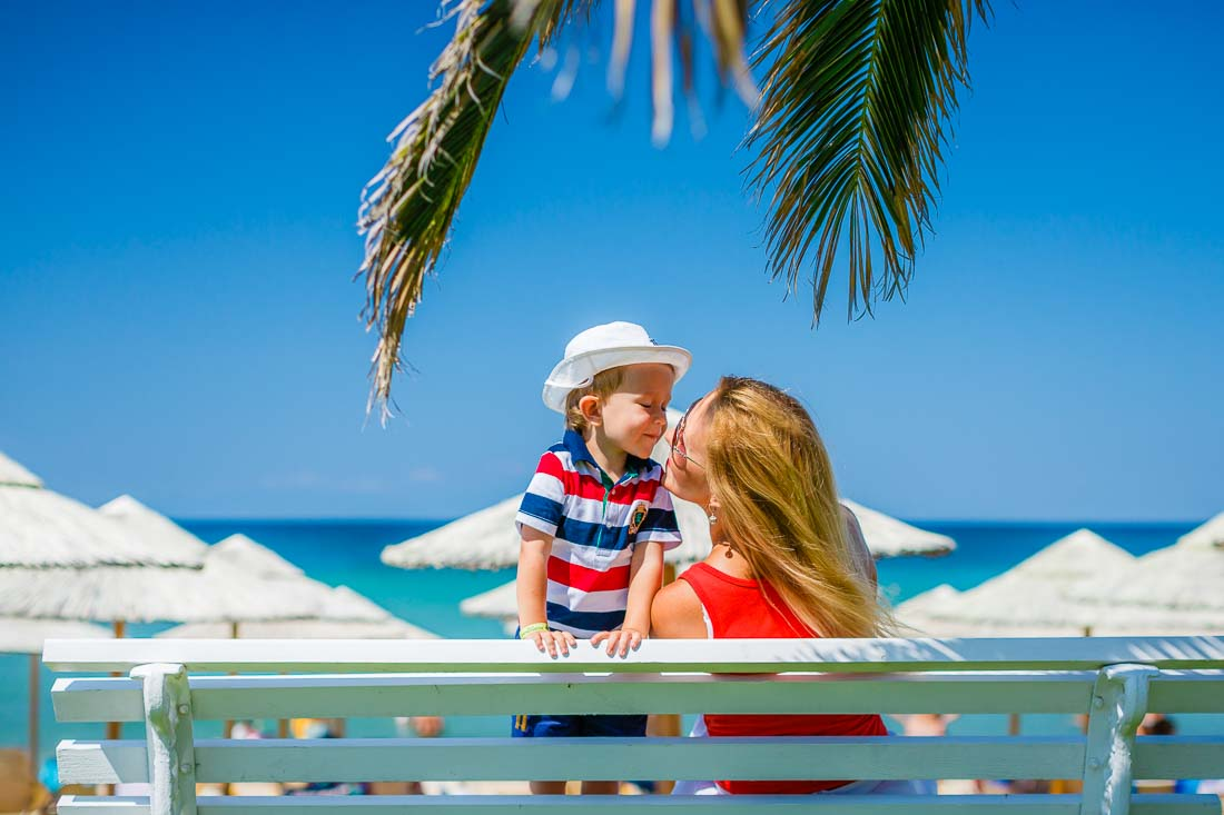 Family photography in Greece