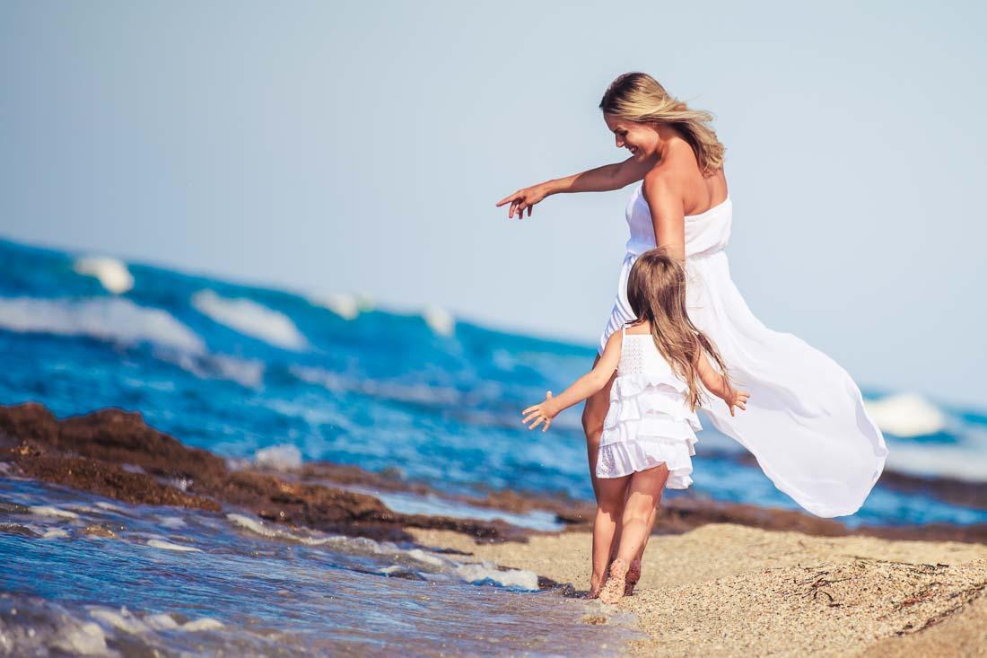 Family photo shoot Greece