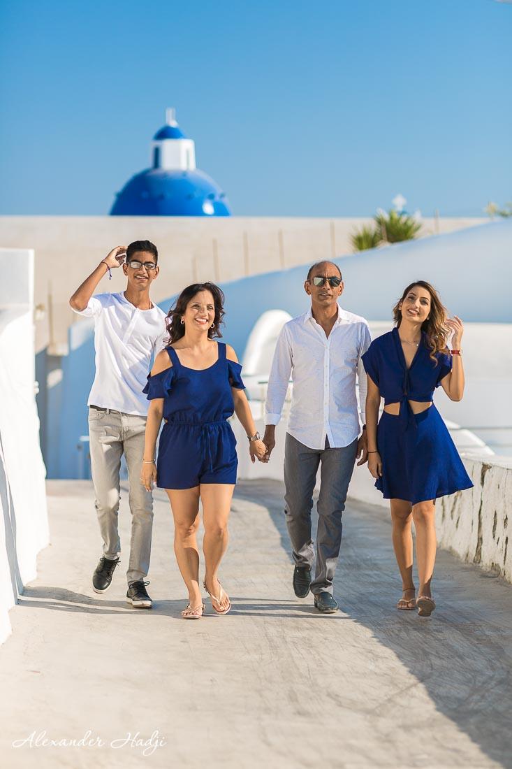 Family photography Santorini Alexander Hadji