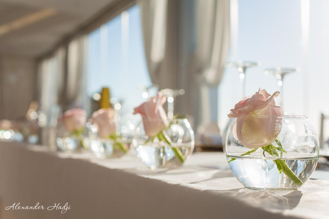wedding photographers in santorini greece