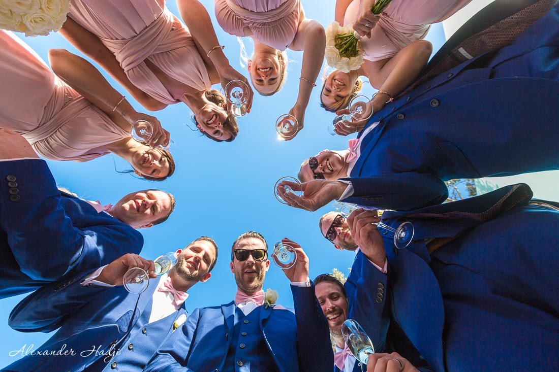 wedding photographer in santorini greece