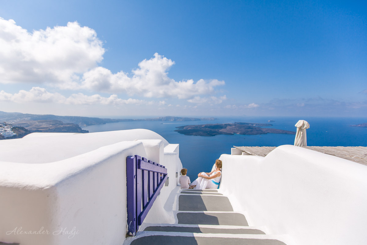 photography in santorini greece