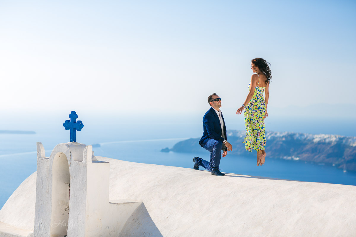 Santorini photographer
