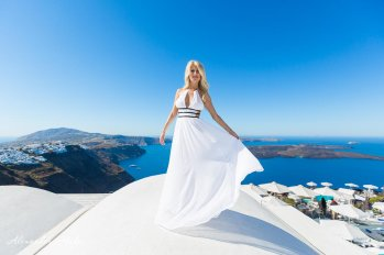 Photography services in Santorini